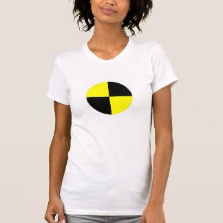 T-shirt accident de voiture de signe de symbole de