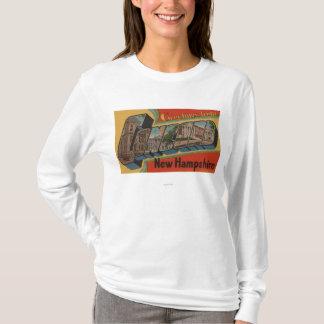 T-shirt Accord, New Hampshire - grandes scènes de lettre