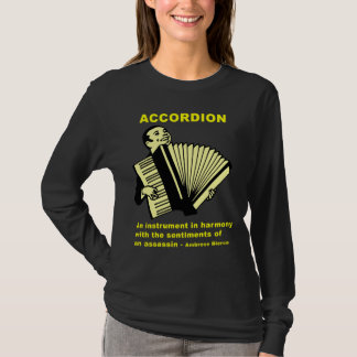 T-shirt Accordéon : Un instrument… (citation drôle !)