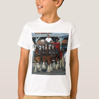 T-shirt Accroc de cheval de Clydesdale 6