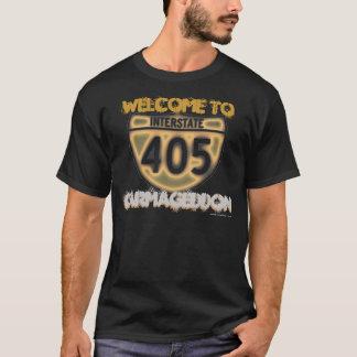 """T-shirt Accueil à Carmageddon - affrontez """"n"""" arrière"""