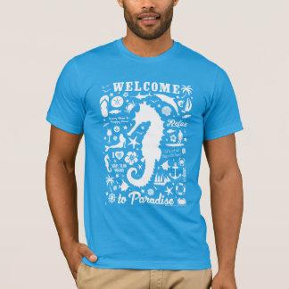 T-shirt Accueil au paradis