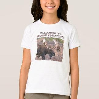 T-shirt Accueil au pays d'orignaux