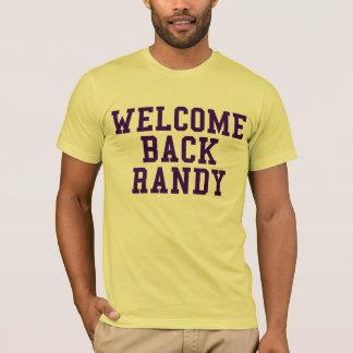 T-shirt Accueil de retour Randy