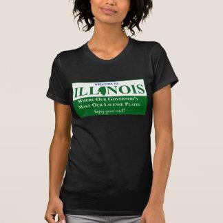 T-shirt Accueil vers l'Illinois - où notre gouverneur…