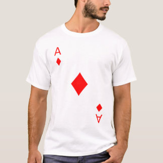 T-shirt Ace of Diamonds