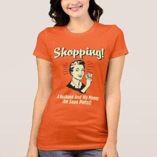 T-shirt Achat : Mari et son argent
