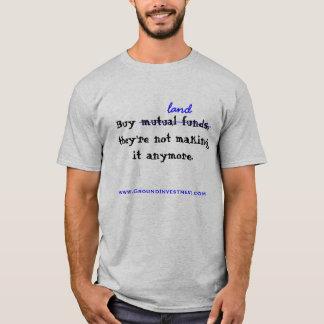 T-shirt Achetez la terre