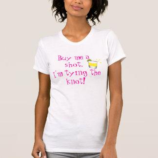 T-shirt Achetez-moi un tir, j'attache le noeud !