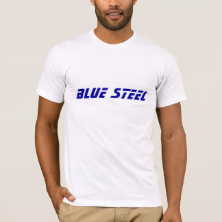T-SHIRT ACIER BLEU