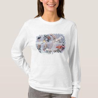 T-shirt Acrobates de cirque de Humpty Dumpty et ménagerie