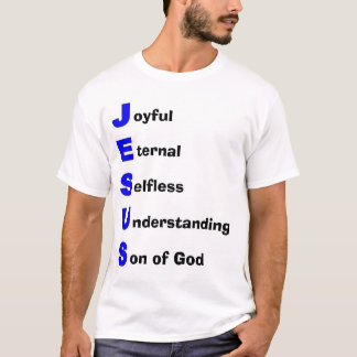 T-shirt Acronyme de Jésus-Christ
