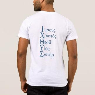 T-shirt Acrostiche d'IXOYE (bleu)