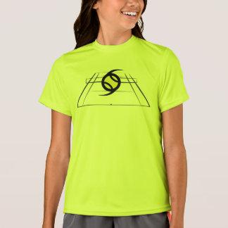 T-shirt actif d'équipage de filles d'EuroSpin
