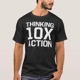 T-shirt Action 10x de pensée