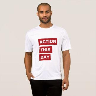 T-SHIRT ACTION CE JOUR