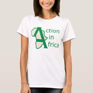 T-shirt Action dans la pièce en t de l'Afrique