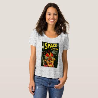 T-shirt Action de l'espace :  EEK !  Un monstre !