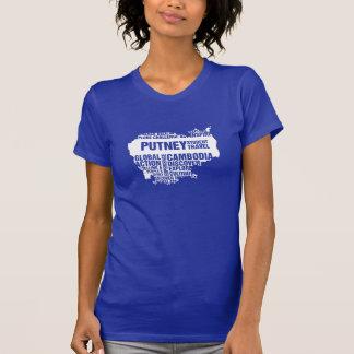 T-shirt Action globale Cambodge dans des couleurs