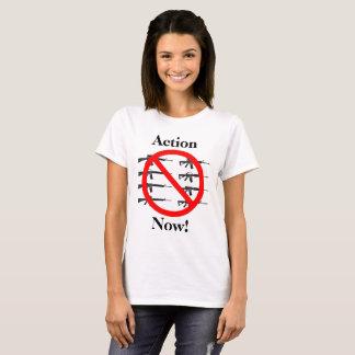 T-shirt Action maintenant sur le contrôle des armes