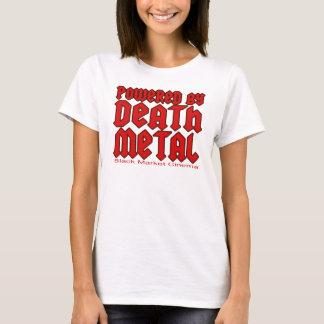 T-shirt actionné par le métal de la mort