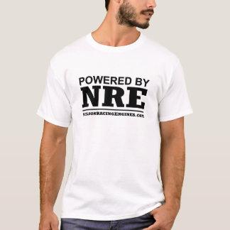 T-shirt Actionné par le Nelson emballant des moteurs