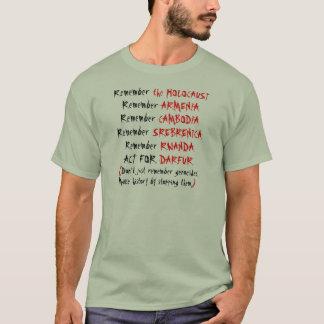 T-shirt Activisme : Ne vous rappelez pas simplement les