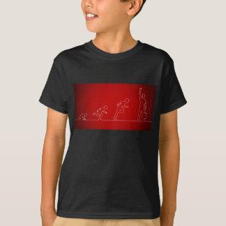 T-shirt Activités d'enfants avec explorer de garçon