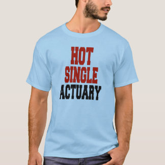 T-shirt Actuaire simple chaud
