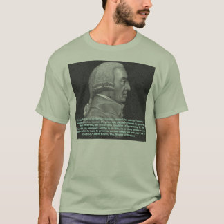 "T-shirt Adam Smith (main invisible), ""chaque individuel…"