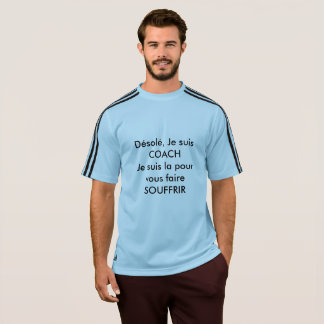 T-shirt Adidas bleu, Homme, coach