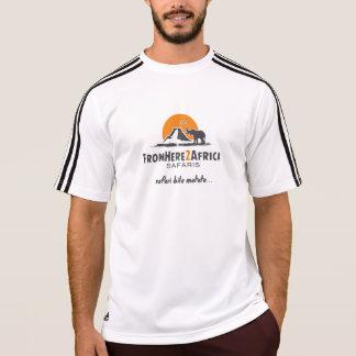T-shirt Adidas des hommes wicking la chemise