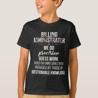 T-shirt Administrateur de facturation