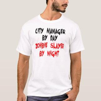 T-shirt Administrateur municipal de tueur de zombi