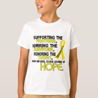 T-shirt Admirer de soutien honorant le cancer de la vessie