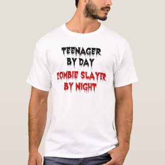 T-shirt Adolescent par le tueur de zombi de jour par nuit
