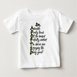 T-shirt adopté