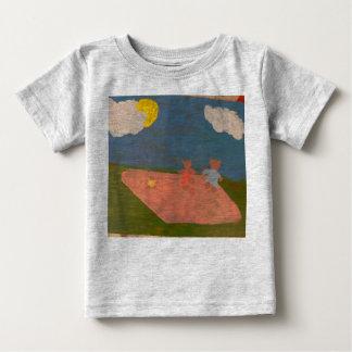 T-shirt adorable de pique-nique d'ours de nounours