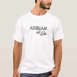 T-shirt Adrian et logo