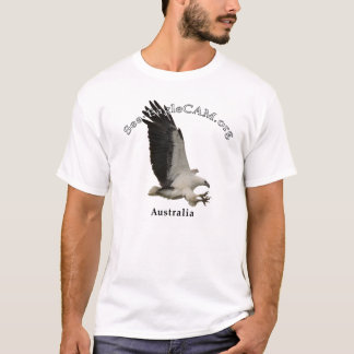 T-shirt adulte de Mer-Eagle de vol