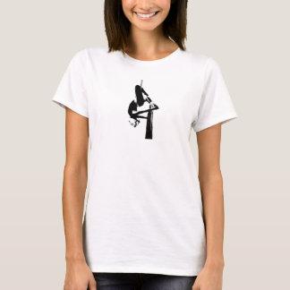 T-shirt aérien de soies