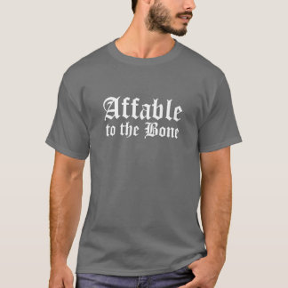 T-shirt Affable, à l'os