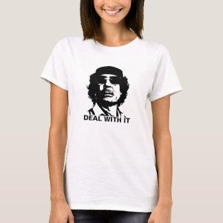 T-shirt Affaire avec elle Muammar Gaddafi