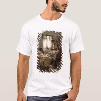 T-shirt Affection maternelle (huile sur la toile)
