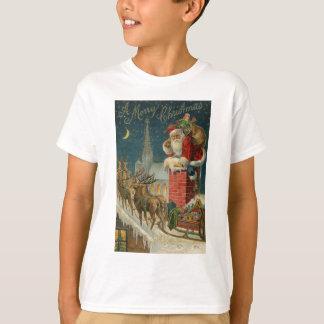 T-shirt Affiche 1906 clous de Père Noël de cru original
