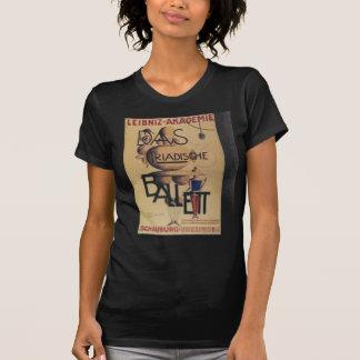 T-shirt Affiche 1921 de ballet