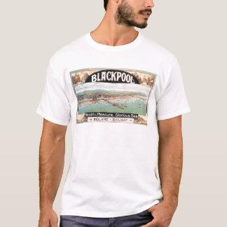 T-shirt Affiche de Blackpool de visite