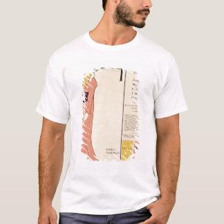 T-shirt Affiche de publicité pour 'le Book jaune