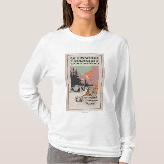 T-shirt Affiche de station thermale # 1