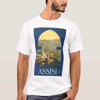 T-shirt Affiche de voyage d'Assisi